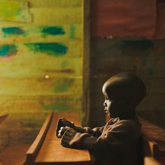 All children have the right to proper education and opportunities. @servingorphans (at Agape Center of Hope, Nairobi)