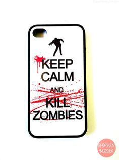 Zombies Iphone 4s Case New Hard Fitted Case For by KeepCalmCaseOn, $15.00