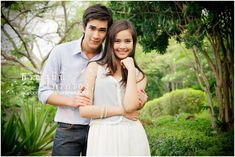 "Thai lakorn ""Thoranee Ni Nee Krai Krong"" (Whose Land is it). Love Nadech and Yaya. Such a sweet couple!"