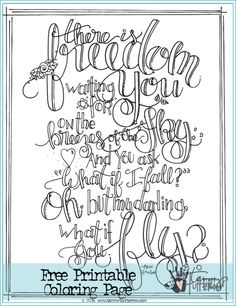 Free Coloring Page: What if You Fly featuring poetry by Erin Hanson (The Poetic… Free Adult Coloring Pages, Free Printable Coloring Pages, Free Printables, Poetry For Kids, What If You Fly, Handwriting Analysis, Calligraphy Words, Doodle Coloring, Coloring Sheets