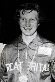 19-year old Yorkshire girl Anita Lonsbrough won gold in the 200m breaststroke at the 1960 Olympic Games in Rome, setting a new World record. In 1962 she won gold at the European championships in Leipzig, three golds at the Perth Commonwealth Games, and was the first woman to become BBC Sports Personality Of The Year. In 1964 in Tokyo she carried the flag at the head of the British Olympic team (and also met her future husband, track cyclist Hugh Porter).