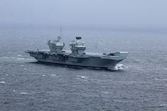 Frigates secure the seas for HMS Queen Elizabeth on maiden sea voyage | Royal Navy