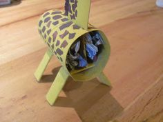 I& back on the cardboard animal trail - this time my mini maker asked for a zebra and a giraffe to add to the lions we& already made for. Afrika Festival, Zebra Craft, Cardboard Animals, Giraffe, Elephant, Toilet Paper Roll Crafts, Zebras, Lions, Art For Kids