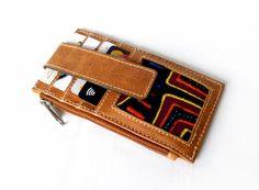 Portemonnaies - Kleines Kartenetui und Portemonnaie aus Leder - ein Designerstück von MolaBags bei DaWanda