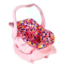 awesome Joovy Toy Car Seat - Pink Dot - For Sale Check more at http://shipperscentral.com/wp/product/joovy-toy-car-seat-pink-dot-for-sale/