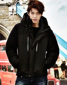 Kim Woo Bin – Giordano F/W 2014