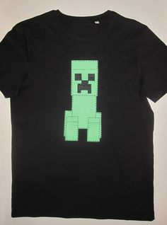 cocodrilova: camiseta minecraft
