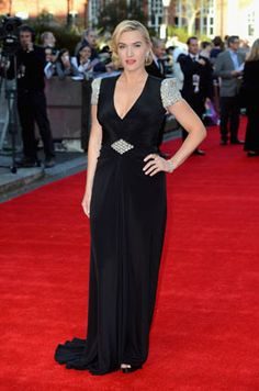 "Kate Winslet attends the ""Titanic"" 3D world premiere at the Royal Albert Hall on March 27, 2012, in London."