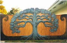 Tree gate...had to pin here, it's too awesome.