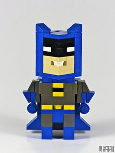 I'm just going to call this derpy lego batman. but it's still pretty good!