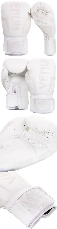 Gloves - Boxing 30102: Venum Elite Boxing Gloves (All White) BUY IT NOW ONLY: $79.99