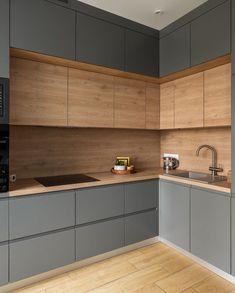 Home Interior Bohemian .Home Interior Bohemian Modern Kitchen Interiors, Luxury Kitchen Design, Kitchen Room Design, Kitchen Cabinet Design, Home Decor Kitchen, Interior Design Kitchen, Home Kitchens, Interior Modern, Cuisines Design
