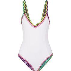 3217029170 Kiini Yaz crochet-trimmed swimsuit (6