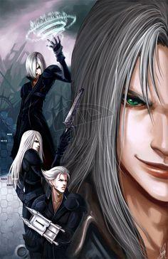 24 Sephiroth Illustration Artworks Naldz Graphics Final Fantasy Sephiroth Final Fantasy Characters Final Fantasy