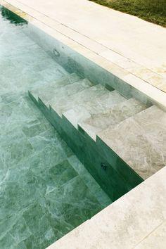 Snake Ranch | dezeen:   Roz Barr's modern pool house has a turf...