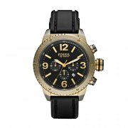Fossil Gents Fashion Watch with Black Dial