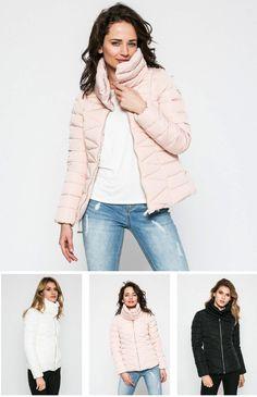 Geaca de puf pentru dame Alyssa Guess Jeans Guess, Winter Jackets, My Style, Jeans, Fashion, Moda, Winter Vest Outfits, La Mode, Fasion