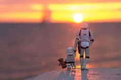 Fotógrafa mostra a 'veia sensível' do lado negro de Star Wars em projeto