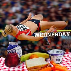 Gettin' over the hump day hurdle -and there's a tasty PB&J waiting for you on the other side!