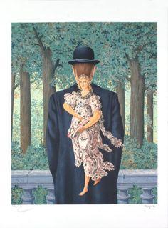 Le Bouquet tout fait, 1957 | Rene Magritte René Magritte 1898 - 1967 More @ FOSTERGINGER At Pinterest