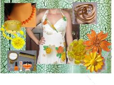 """""""Oranges, Lemons and Roses too"""" by thejewelseeker-1 on Polyvore"""