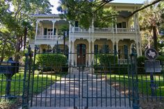 Take a stroll through San Antonio's historic King William District, a 25-block area near downtown on the south bank of the San Antonio River. In the late 1800's the King William District was the most elegant residential area in the city.