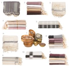 """100 % Turkish hammam towel """"PESTEMAL' The peshtemal absorbs water as fast as a terry cloth towel, dries very quickly, takes up less space and easy to carry . Textile Patterns, Textiles, Turkish Cotton Towels, Easy Gifts, Hostess Gifts, Turkey, Fabrics, Stripes, Interiors"""