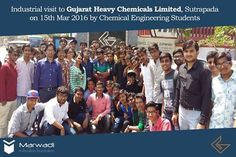 Industrial visit to Gujarat Heavy Chemicals Limited, ‪#‎Sutrapada‬ by 4th semester Chemical Engineering Students on 15th March. More than 50 students were given an overview of the manufacturing process by the chief Chemical Engineer (‪#‎GHCL‬)  ‪#‎IndustrialTour‬ ‪#‎ChemicalEngineering‬ ‪#‎MEFGI‬ ‪#‎Rajkot‬