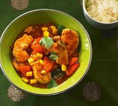 Hähnchen-Curry Rezept - [ESSEN UND TRINKEN]