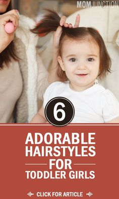 30 Adorable Toddler Girl Haircuts And Hairstyles Whether it is the first haircut or the tenth, the fun is always in trying something new! If you are looking for cute toddler girl haircuts, we have just the list for you. Baby Girl Hairstyles, Easy Toddler Hairstyles, Toddler Girl Haircuts, Short Hairstyles, Short Haircuts, Toddler Hair Bows, Female Hairstyles, Hairstyle For Baby Girl, Cute Hairstyles For Toddlers