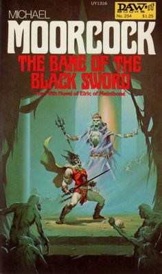 MICHAEL WHELAN - art for The Bane of the Black Sword by Michael Moorcock - 1977 DAW Books