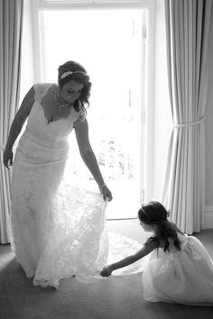 St Ives Harbour Hotel Wedding #stives #wedding #porthminster #harbourhotel #weddingdress  Photograph © Mark Noall Photography