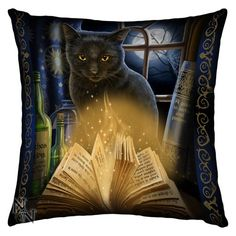 Bewitched Cushion By Lisa Parker