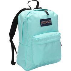JanSport SuperBreak Backpack ($36) ❤ liked on Polyvore featuring bags, backpacks, blue, school & day hiking backpacks, jansport, jansport bags, pocket backpack, blue backpack and handle bag