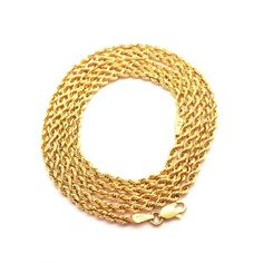 As gold chain is very popular and widely used jewelry, you can find it in distinct design and patterns. Nowadays you can find the most delightful rope gold chain jewelry available at online store at best price.