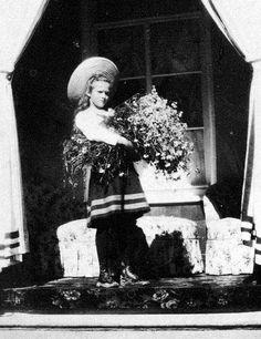 Tatiana Romanov, second oldest daughter of Tsar Nicholas ll of Russia.
