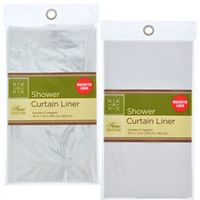 The Home Collection Shower Curtain Liners 70x72 In With Images