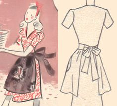 Pretty Vintage Sewing Apron Tutorial
