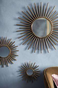 Runder Spiegel   Goldfarben   H&M HOME   H&M DE