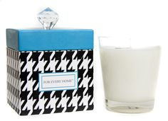 Houndstooth Trend Candles, For Every Home. #foreveryhome