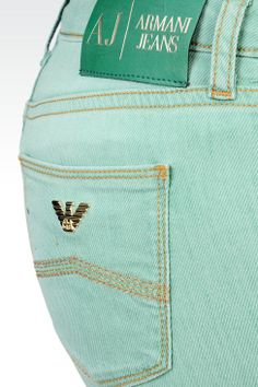 Jeans 5 Tasche Donna Armani Jeans - SKINNY JEANS USED EFFECT Armani Jeans Official Online Store