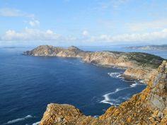 Cíes Islands. Ría de Vigo.