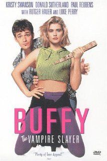 Buffy the Vampire Slayer. Before the TV show was the early 90s camp classic, featuring a phenomenal death scene by Bizzarro PeeWee Herman.