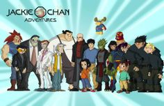 Jackie Chan Adventures - cast