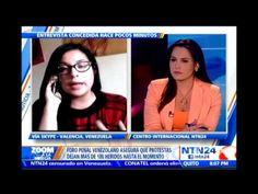 Prima de Marvinia Jiménez habla en NTN24 sobre la fuerte agresión de la ...