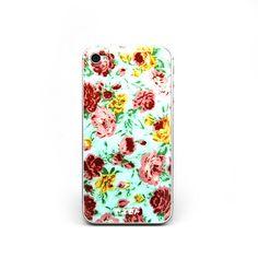 Pretty Floral Print iPhone Case.
