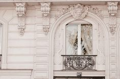 Paris Photograph, Baroque Window, Classic Black and White Photo, Neutral Home Decor, Wall Art, French Architecture by ParisianMoments on Etsy https://www.etsy.com/listing/89290841/paris-photograph-baroque-window-classic
