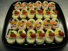 Petra, Finger Foods, Sushi, Cheesecake, Appetizers, Bread, Snacks, Healthy, Ethnic Recipes