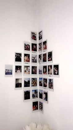 DIY Home Decor creative number Refreshingly Dorm Room Decor Ideas Creative decor DIY Home number Refreshingly Cute Room Ideas, Cute Room Decor, Modern Room Decor, Polaroid Wall, Polaroids On Wall, Instax Wall, Hanging Polaroids, Polaroid Pictures Display, Polaroid Display