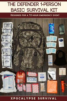 Emergency Preparedness Food, Emergency Water, Survival Prepping, Survival Skills, Survival Card, Survival Books, Survival Items, Camouflage Backpack, Red Backpack